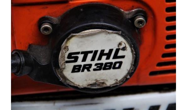 bladblazer STIHL, type BR 380 (049-149), werking niet gekend