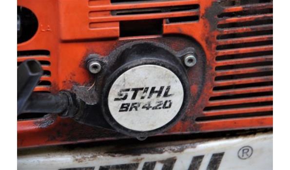 bladblazer STIHL, type BR 420 (049-133), werking niet gekend