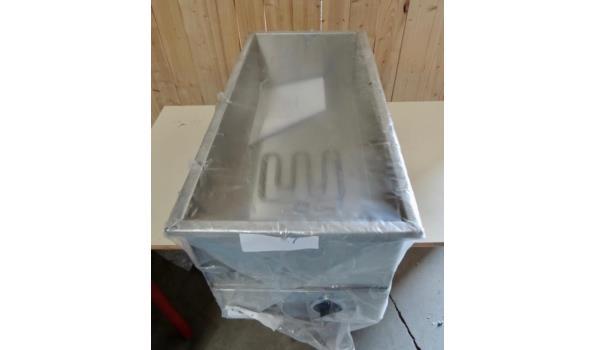 Inbouw Bain Marie afm. 72x35 - 220V- Ongebruikt
