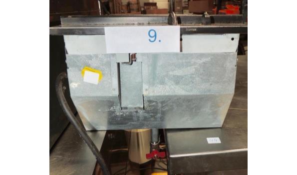 Inbouw friteuse fabr. Electrolux type EHB334 2000W 220V. Zonder stekker