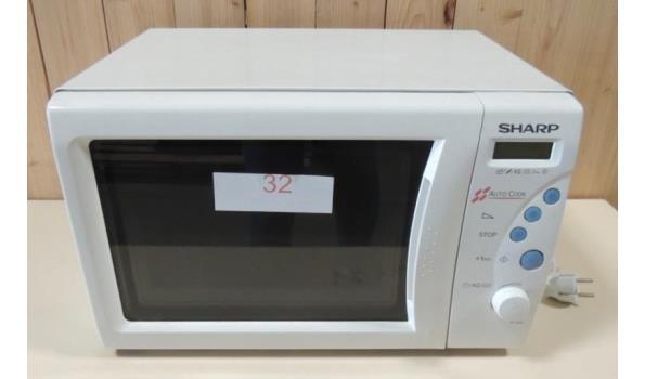 Microgolfoven fabr. Sharp type R233