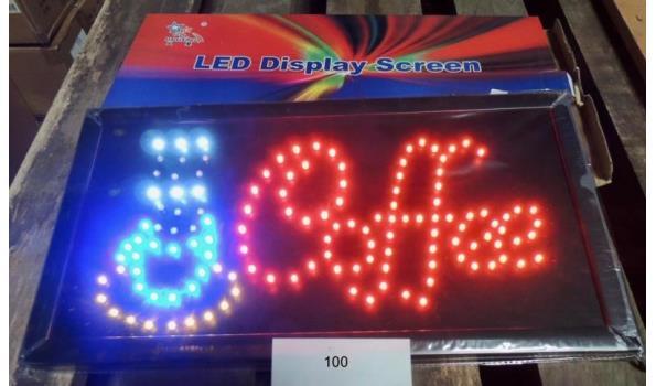 "LED Display ""Coffee"""