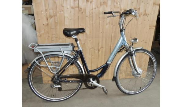 Elektrische fiets fabr. X-Tract . Zonder lader. Werking onbekend