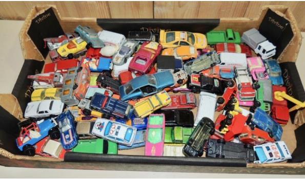 Diverse miniatuur autootjes