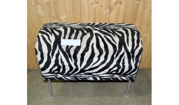 Zebra poef