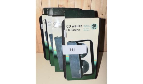 CD opberghoezen 4 stuks