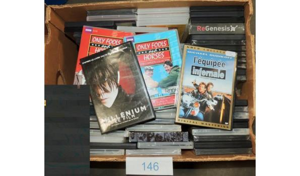 Diverse DVD's circa 70 stuks