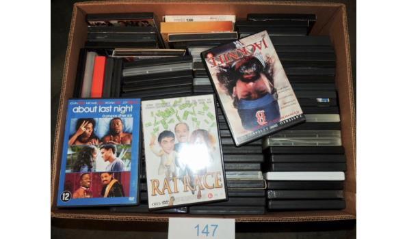 Diverse DVD's circa 80 stuks