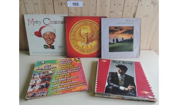 Circa 15 diverse LP's