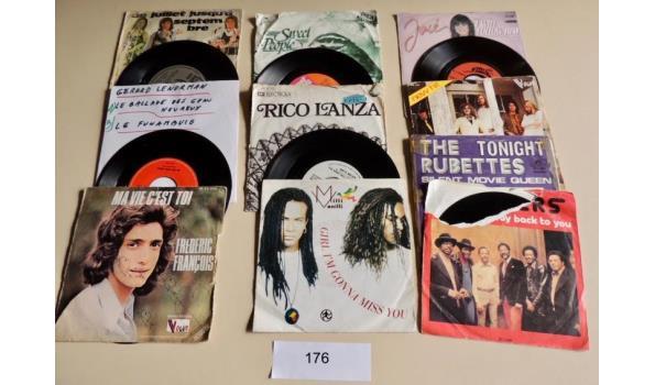Circa 15 diverse Singles