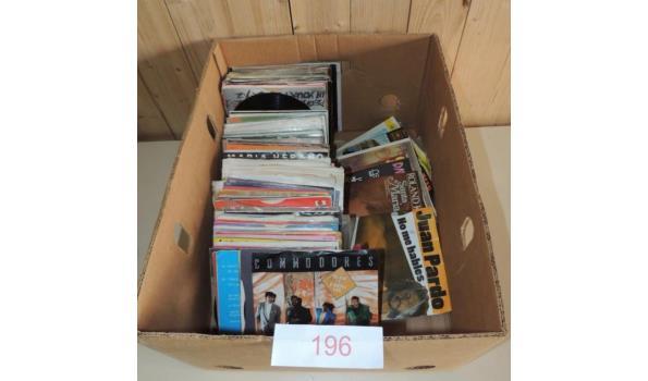 Diverse Singles circa 140 stuks