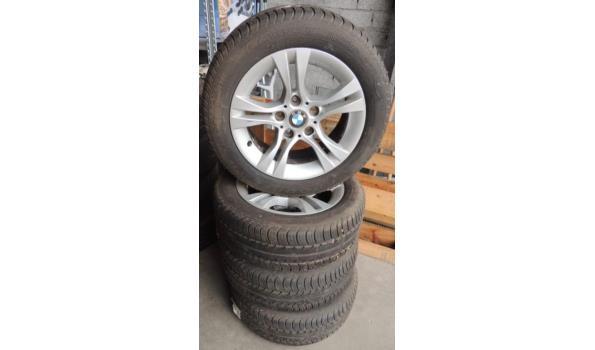 Velgen fabr. BMW met Banden fabr. Goodyear maat 205/55R16 . Geschikt voor BMW 3 serie (E90 en E46)