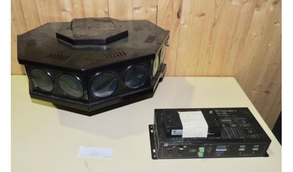 Disco verlichting met controller fabr. DecaLED type 4