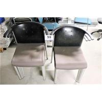 6 design stoelen WILKHAHN, stapelbaar