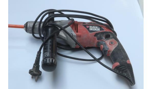 boormachine BLACK&DECKER KR 703, 710w, werking niet gekend