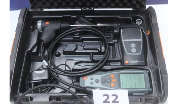 gas-analyze apparaat TETSO 327-1, met toebehoren, werking niet gekend