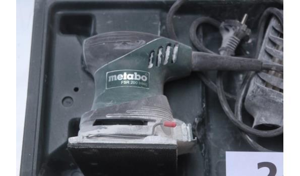 schuurmachine METABO FSR 220 Intec, werking niet gekend