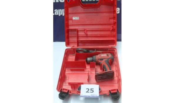 accu boormachine HILTI SF6-A22, zonder batterij, werking niet gekend