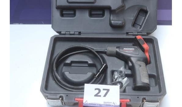 inspectiecamera RIDGID Micro CA-25, werking niet gekend