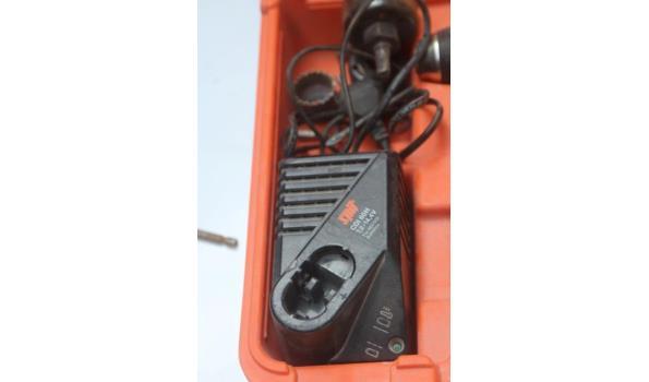 accu boormachine SPIT HDI 244, werking niet gekend