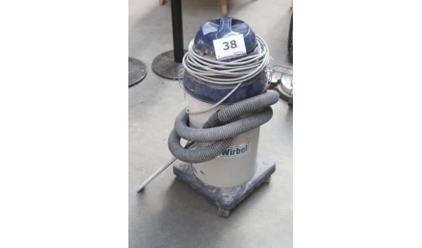 industriële stofzuiger WIRBEL 829 RE P, werking niet gekend