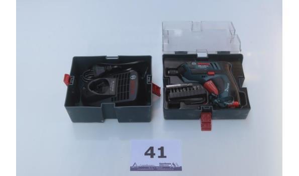 accu schroefmachine BOSCH GSR Mx2Drive met lader, werking niet gekend