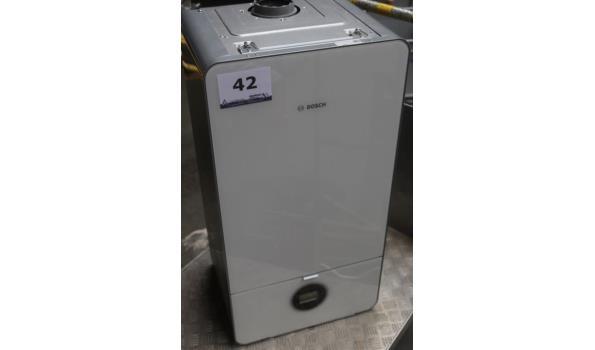 condensatieketel BOSCH 7000iw, werking niet gekend