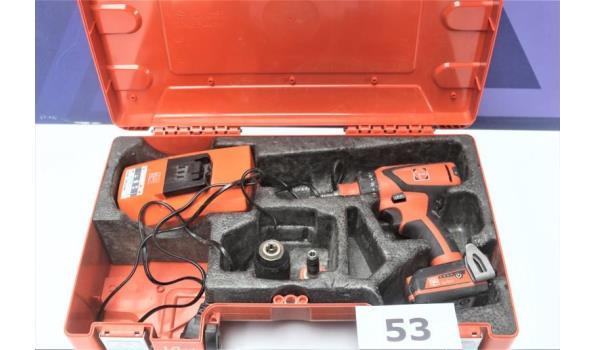 schroefmachine FEIN, ASCD 18-200, werking niet gekend
