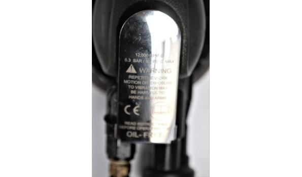 pneum handpalm schuurapparaat RED ROOSTER RRI-5125, werking niet gekend