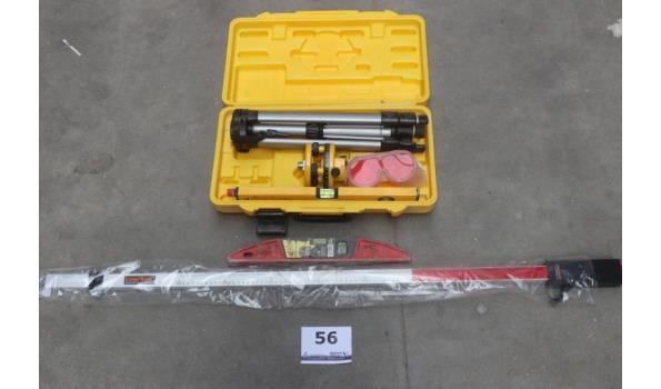 laser, hoogtemeter LASERLINE en waterpas, werking niet gekend