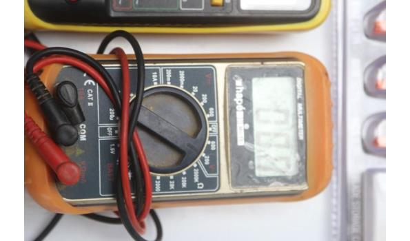2 multimeters ELIX en HAPé, werking niet gekend