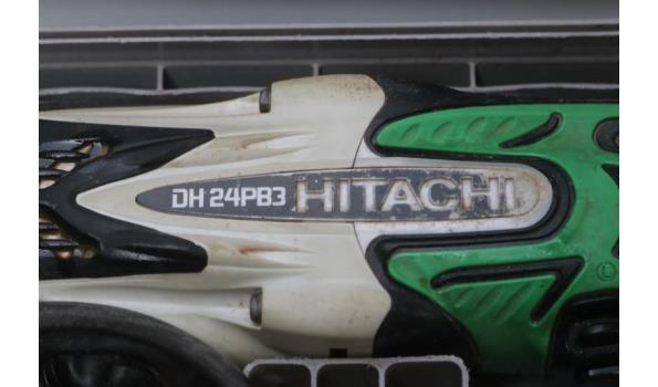 klopboormachine HITACHI DH 24PB3, 800w, werking niet gekend