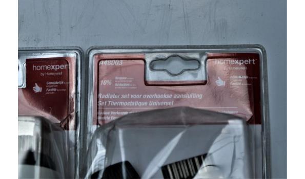 8 radiatorsets HONEYWELL