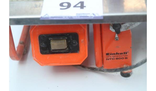 tafelzaagmachine EINHELL NTC 900S, werking niet gekend