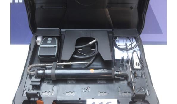 rookgasanalyze apparaat TESTO 320LX, werking niet gekend