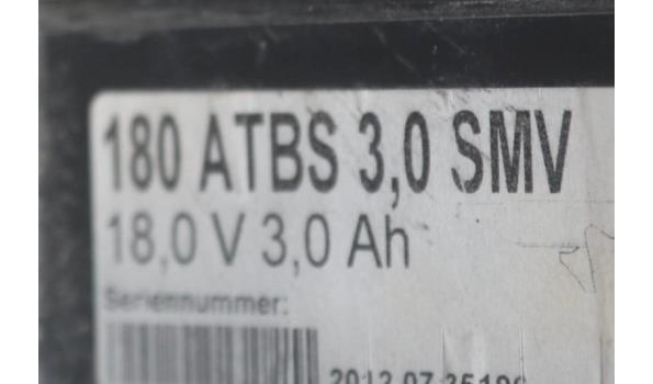 accu boormachine KRESS 180ATBS 3,0, werking niet gekend