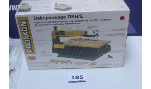 decoupeerzaagmachine PROXXON DSH/E, werking niet gekend