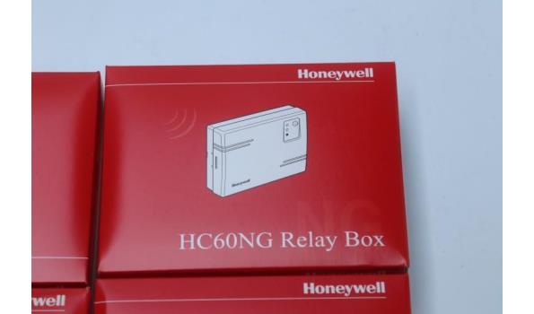 4 draadloze ketel/pompaansturingen HONEYWELL HC60NG
