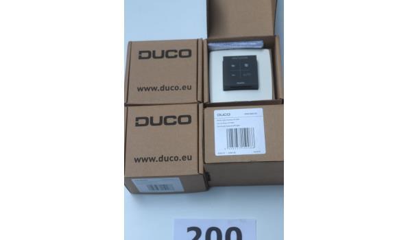 4  bedieningschakelaren DUCO RF-230V