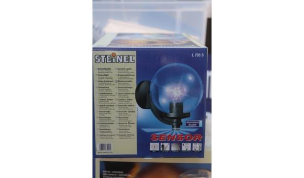 3 sensor lampen STEINEL L705S
