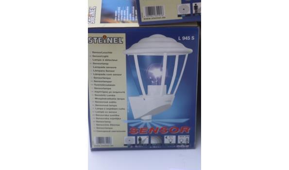 3 sensor lampen STEINEL L945S