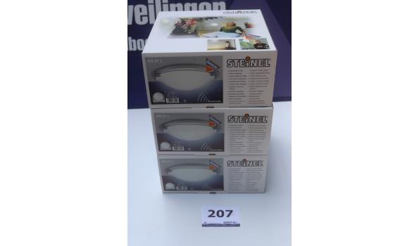 3 sensor plafonniere STEINEL RS21L