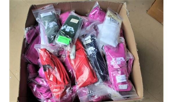 plm 120 paar sportsokken, in div maten en kleuren (H).  Opgelet: meerderheid kleding is vv diefstalalarm