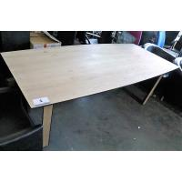 houten eetkamertafel, afm plm 210x100cm