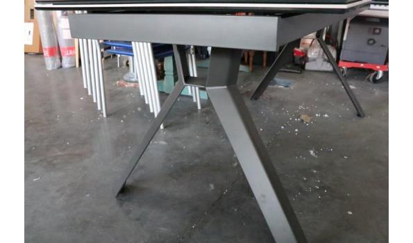 verlengbare eetkamertafel, afm plm 180-260x90cm