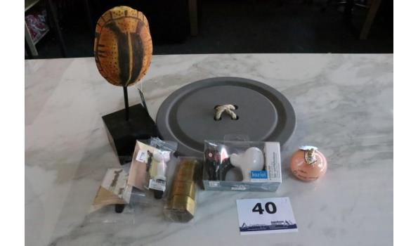 lot div decoratieve voorwerpen