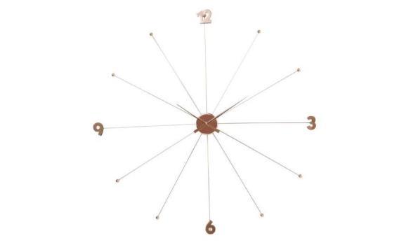 design wandklok, diam 100cm
