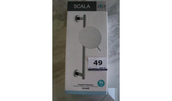 verstelbare cosmeticawandspiegel ZACK, Scala