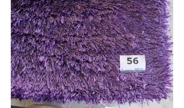 vloertapijt ESPRIT, paars, afm plm 70x140cm