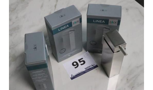3 zeepdispensers ZACK, Linea